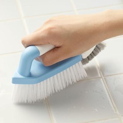 日本aisen兩用機能浴室磁磚清潔刷2入裝