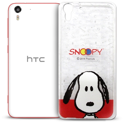 史努比 HTC Desire EYE 透明軟式手機殼 頭貼款