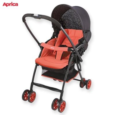 日本 Aprica 超輕量Karoon嬰幼兒手推車 櫻花紅 RD