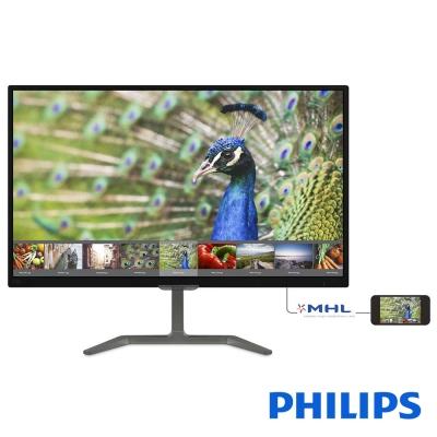 PHILIPS 276E7QDAB 27型 (16:9 黑色) 寬電腦螢幕