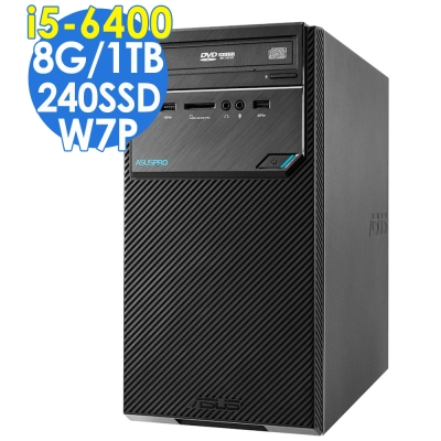 ASUS D320MT i5-6400/8G/1T/240SSD/W7P