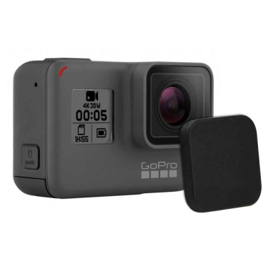 (2入)GoPro 副廠 HERO6 HERO5 簡約硬式 主機鏡頭蓋 保護蓋