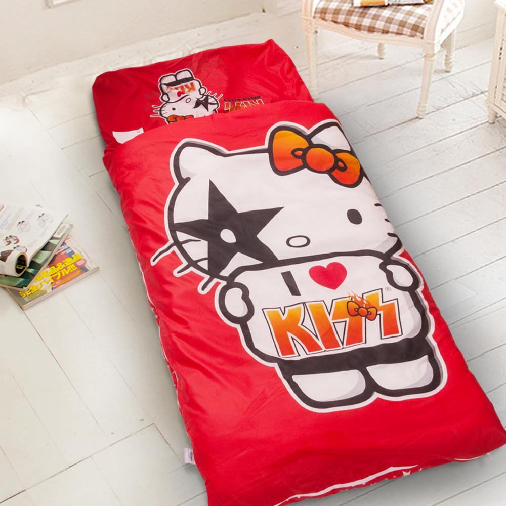 Hello Kitty-紅  台灣精製兒童睡袋
