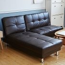 Bed Maker-路得清 多功能調整L型皮革沙發床(可當床/三色)
