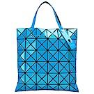 ISSEY MIYAKE 經典BAOBAO幾何方格6x6手提包(天空藍)