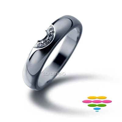 彩糖鑽工坊 鑽石戒指(窄版) 許願Wish系列