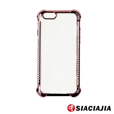 水漾-電鍍氣墊式TPU手機軟殼 iPhone6/6s(4.7吋)