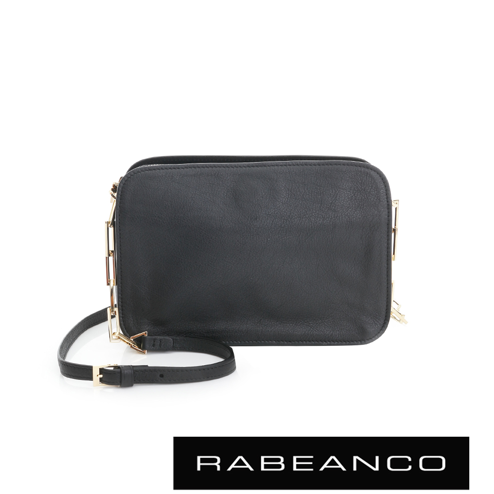 RABEANCO LUXURY極致奢華系列鍊帶包 - 黑