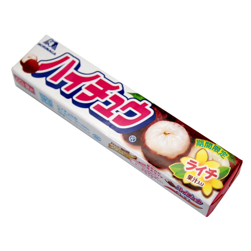 森永製果 嗨啾條糖-荔枝(55.2gx2條)