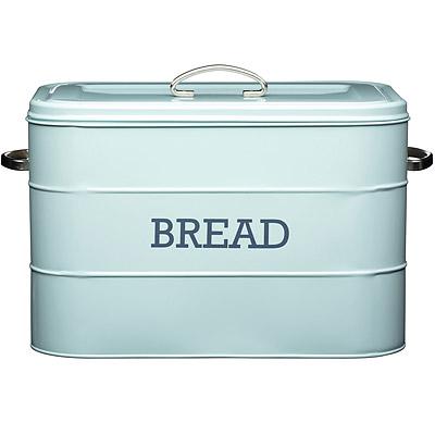KitchenCraft 復古麵包收納盒(藍)