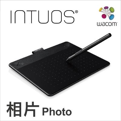 Wacom Intuos Photo 相片創意觸控繪圖板-經典黑(小)
