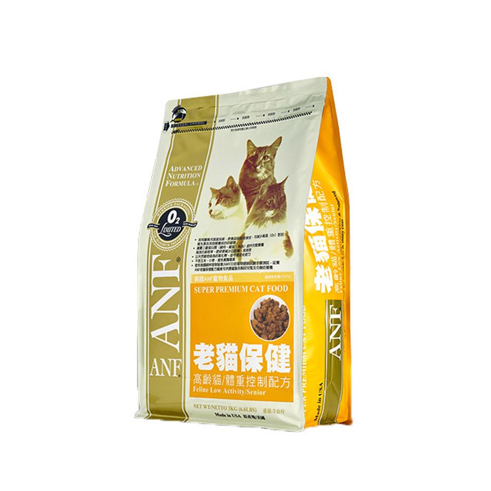 ANF愛恩富 老貓保健-高齡貓/體重控制配方3kg