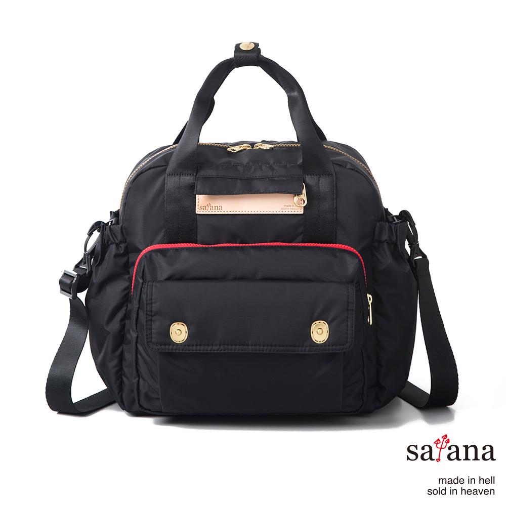 satana - MAMA 多功能後背包 - 黑色