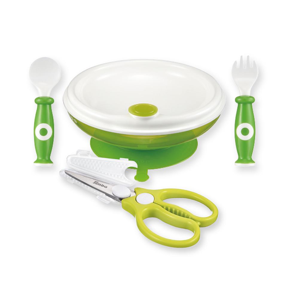 小獅王辛巴 保溫餐具金剛剪副食品必備二件組