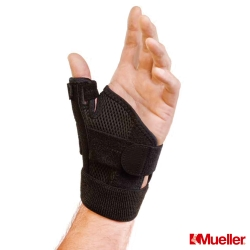 MUELLER慕樂 加強型大拇指護具 黑色(MUA42717)