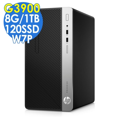 HP 400G4 G3900/8G/1TB/120SSD/W7P