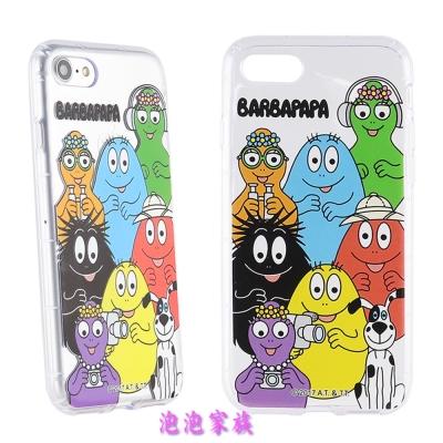 BARBAPAPA泡泡先生iPhone 8/7(4.7吋)空壓保護套-泡泡家族