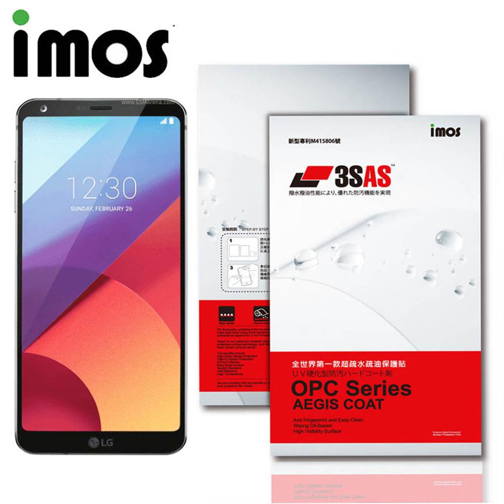 iMOS 樂金 LG G6 3SAS 疏油疏水 螢幕保護貼 @ Y!購物