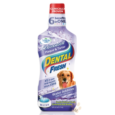 美國DENTALFRESH 犬用-潔牙液(加強版)17oz
