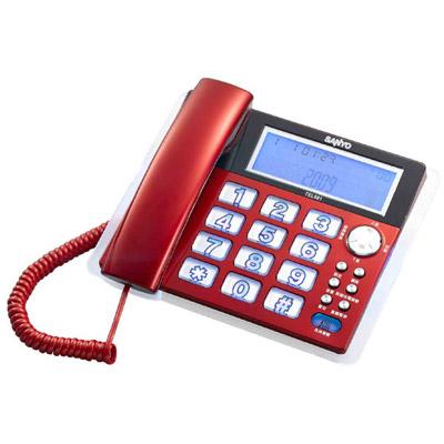 三洋 SANYO TEL-981 來電顯示有線電話