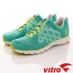 Vitro韓國專業運動品牌-Mode StepⅡ-頂級專業慢跑鞋-螢光綠(男)