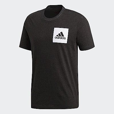adidas Logo 短袖上衣 男 BS4861