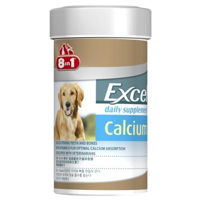 美國8in1-Excel成幼犬活力鈣片-155錠