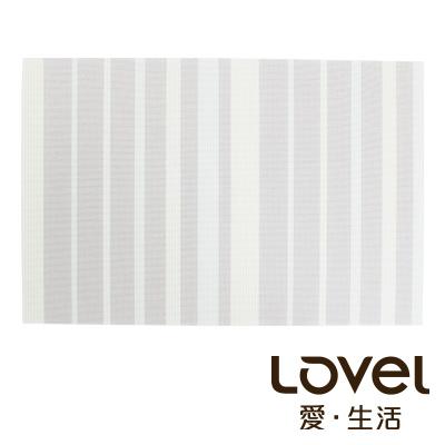 LOVEL 英倫手作風編織感餐墊-夜光瑩萊姆(1入組)