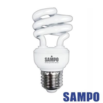 SAMPO 聲寶8W 螺旋省電燈泡-5入裝