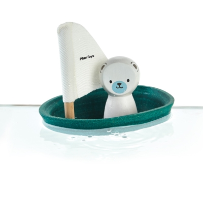 GMP BABY PLANTOYS北極熊帆船組1組