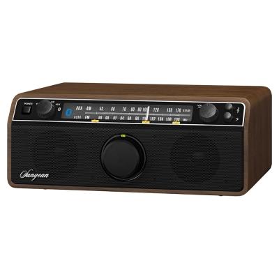 SANGEAN 二波段復古收音機 WR12BT