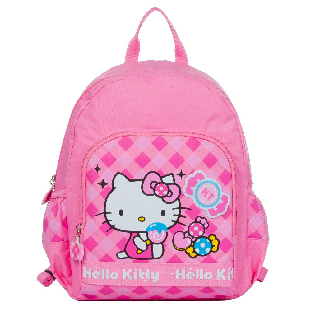 Hello Kitty 糖果樂園兒童後背書包 M-粉紅 KT00V02PK