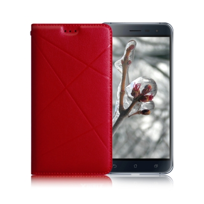 X mart ASUS ZenFone 3 5.5吋 渴望完美真皮磁吸皮套