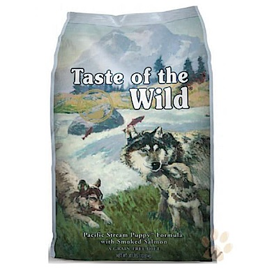 海陸饗宴《太平洋燻鮭 幼犬專用》無穀狗糧 2.27kg @ Y!購物