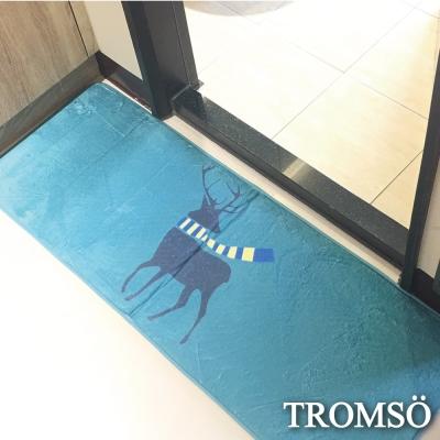 TROMSO簡單生活超柔軟舒適特長地墊-M214圍巾麋鹿