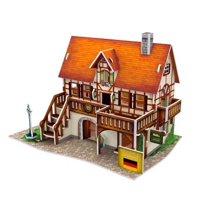 世界之窗 3D立體拼圖 德國-藝術工作室 3D World Style