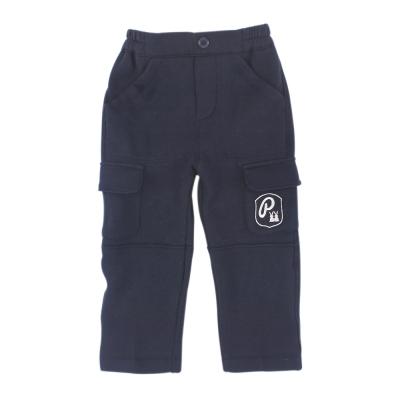 愛的世界 pappa&ciccia 鬆緊帶保暖磨毛長褲  2 ~ 4 歲