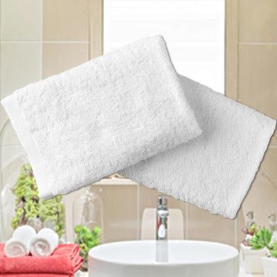 法式寢飾花季 純品良織-五星飯店專用款純白柔舒毛巾(150g/條)x12件組