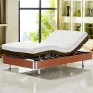 Ally愛麗 線控 五星級居家歐式電動床組單人(3.3尺寬)-床墊-正面軟反面硬-免煩惱-