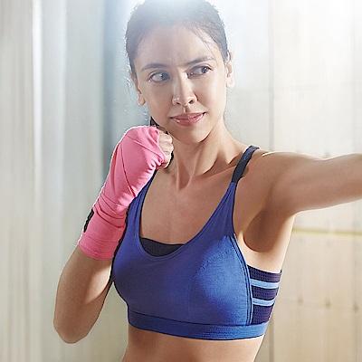蕾黛絲-釋壓運動背心運動內衣 M-EEL(動氧藍)