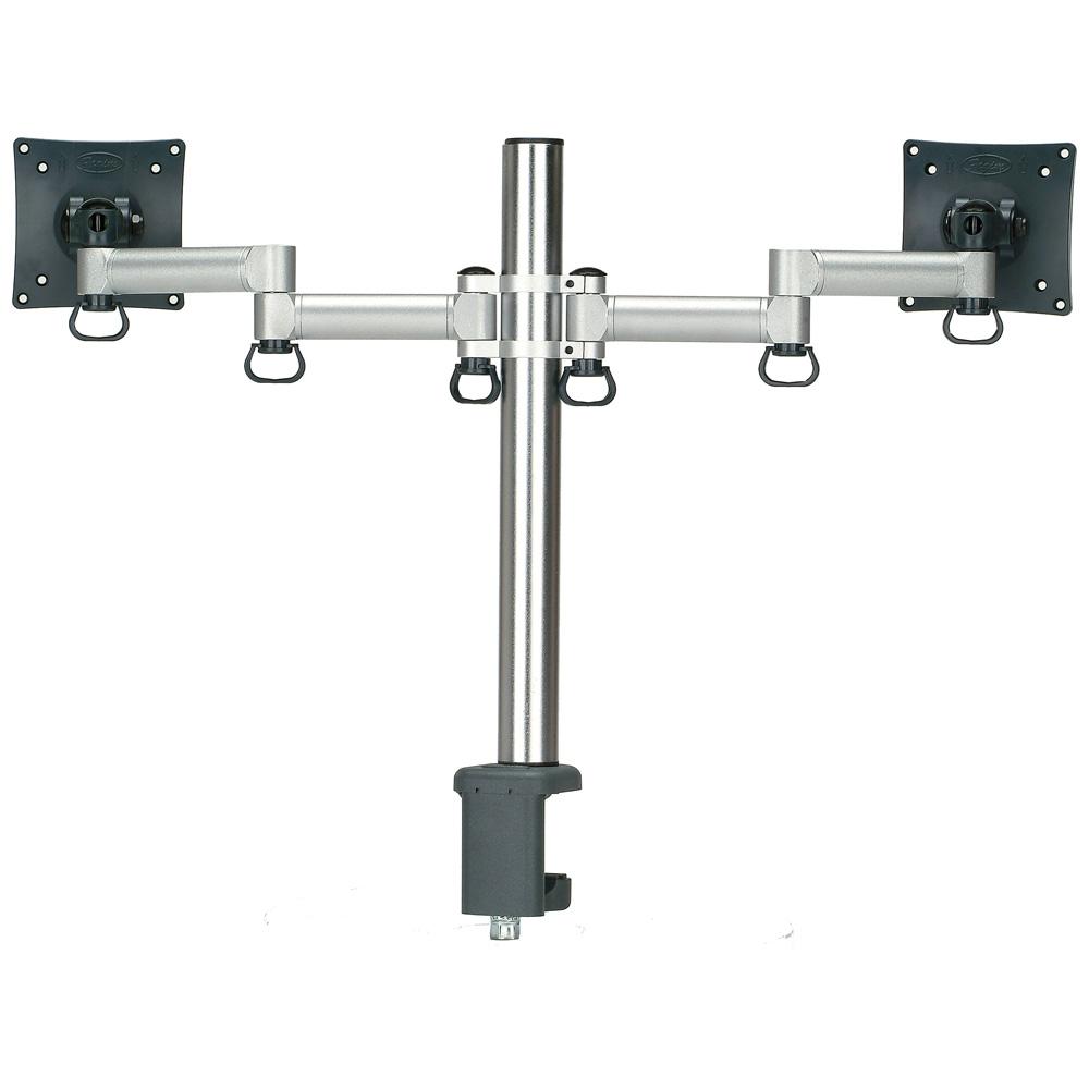 時尚屋 FOGIM夾桌懸臂式液晶雙螢幕支架6032SM