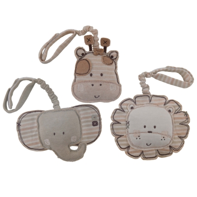 英國Natures Purest天然有機棉-三件組掛飾玩具(PTSS0071210)