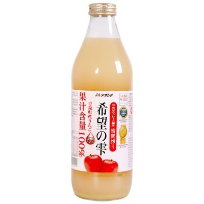 青森農協 青連希望蘋果汁(1000mlx6瓶)