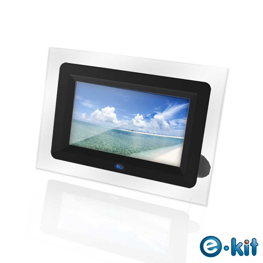 e-Kit逸奇7吋珍藏黑數位相框電子相冊DF-F022-TB