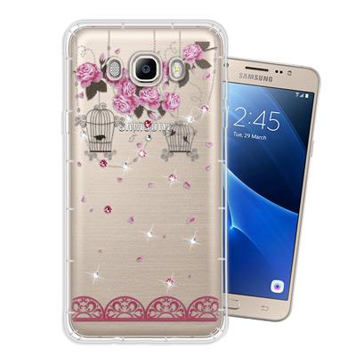 WT-Samsung-Galaxy-J7-2016-奧地利水晶彩繪空壓手機殼-璀璨蕾絲