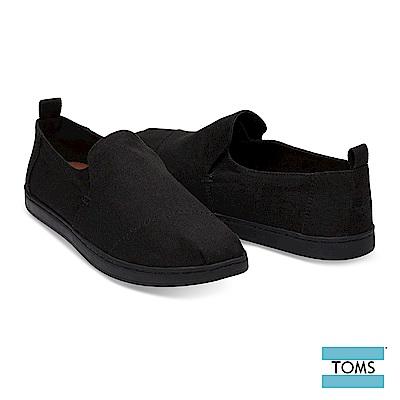 TOMS 簡約解構式帆布休閒鞋-男款