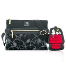 Arnold Palmer x Snoopy- 斜背包 Soft Bag 休閒軟包系列-黑