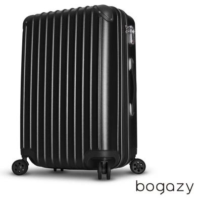 Bogazy 絢光魔力 24吋電子抗刮PC旅行箱(紳士黑)