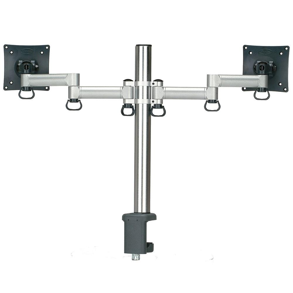 FOGIM 夾桌懸臂式液晶螢幕支架(雙螢幕)-TKLA6032-SM