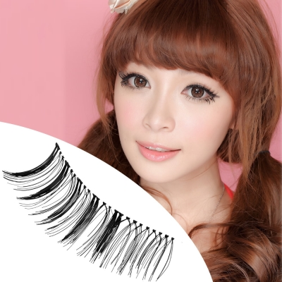 Beauty美姬風彩-假睫毛-日系透明梗-復古濃黑
